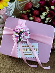 6 Фавор держатель-Кубический Металл Коробочки Горшки и банки для конфет Подарочные коробки