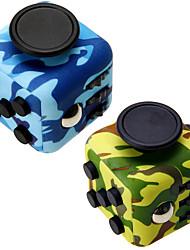 camuflagem fidget cube dedo mão superior magia espremer enigma cubo trabalho classe casa edc adicionar adhd anti ansiedade stress reliever 1pc