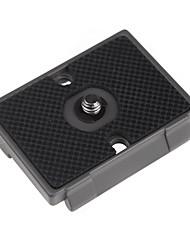 placa de liberación rápida 1/4 ajuste de tornillo para bogen 3157n manfrotto 200pl-14 rc2 3030 3130