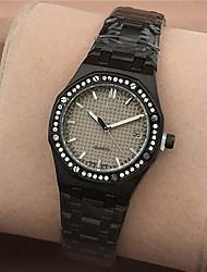 Mujer Niños Reloj de Moda Reloj de Pulsera Reloj creativo único Reloj Casual Simulado Diamante Reloj Chino Cuarzo Calendario Resistente