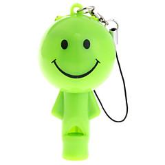 couper poupée dirigée trousseau lampe de poche avec sifflet (couleur aléatoire)