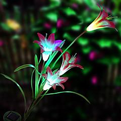 napelemes LED virág fény (1049-cisz-28079)