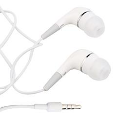 i-øret stereo øretelefoner for iphone - hvit