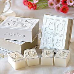 """«Livre d'amour"""" set bougies"""