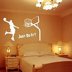 basketbal decoratieve muur sticker (0565-1105079)