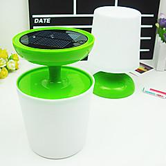 1w soldrevne bord lys med LED lys (tilfældig farve)