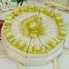 einfaches Design Kuchen zugunsten Box (10 Stück)