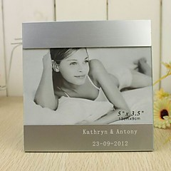 Personalized Symple Designed Silver Aluminum Photo Frame