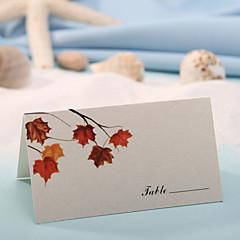 Card paper Place Cards 12 PVC Bag