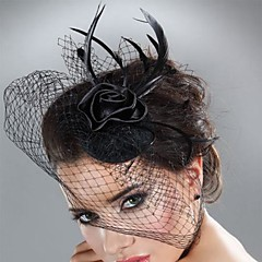 Femme Plume / Tulle Casque-Mariage / Occasion spéciale Coiffure