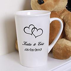 Bruid / Echtpaar Gifts Stuk / Set Glazen en bekers Glam / Klassiek Bruiloft / Gedenkdag / Verjaardag Keramisch GepersonaliseerdGlazen en