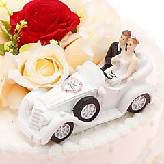 Cake Topper Non-personalized Classic Couple / Vehicle Resin Anniversary / Wedding PVC Bag