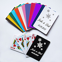 Personalized Playing Cards - Snowflake(More Colors)