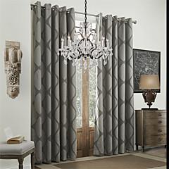 Twee panelen Window Behandeling Rococo Eetkamer Polyester Materiaal Curtains Drapes Huisdecoratie For Venster
