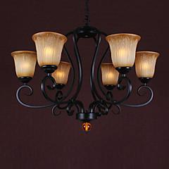 Max 60W Traditionell-Klassisch Candle-Art Korrektur Artikel Kronleuchter Wohnzimmer / Esszimmer