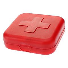 Reise Reisemedikamentenbox / Aufgeblasene Matte Reiseaccessoires für den Notfall Plastik