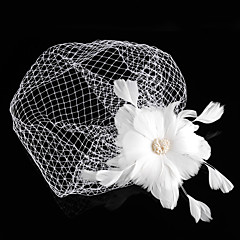 Femme Plume / Tulle Casque-Mariage / Occasion spéciale Coiffure / Fleurs