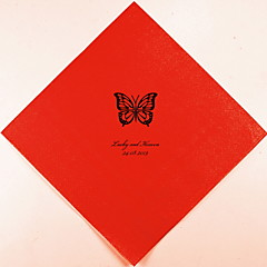 Personalized Wedding Napkins Butterfly(More Colors)-Set of 100