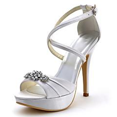 Bruiloft Schoenen - Zwart / Blauw / Geel / Roze / Paars / Rood / Ivoor / Wit / Zilver / Goud - Huwelijk - Hoge hakken / Platform -