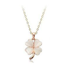 Okouzlující slitina s náhrdelníkem Opal žen