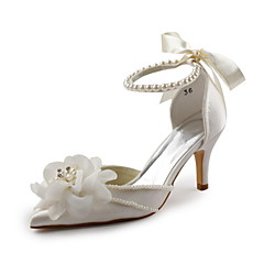 Women's Wedding Shoes Peep Toe/D'Orsay & Two-Piece Sandals Wedding/Party & Evening Ivory/White