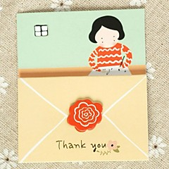 """""""Dear Mom"""" Tri-fold Greeting Card for Mother's Day"""