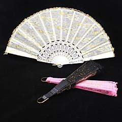 Double Layer Lace Ruční ventilátor (více barev)