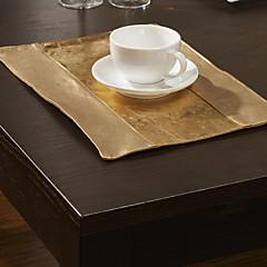 Set von 4 European Style Goldene Tischsets