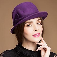 נשים נערת פרחים צמר כיסוי ראש-אירוע מיוחד קז'ואל חוץ כובעים