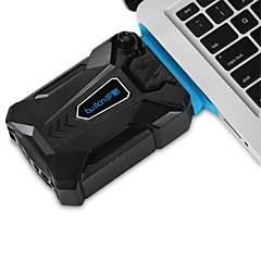 Černá vakuová Air Vytěžené Notebook MINI chladič