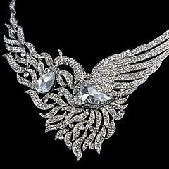 Šperky Set Dámské Svatba / Zvláštní příležitost Sady šperků Imitace perly / imitace drahokamu Náhrdelníky / Küpeler Stříbrná
