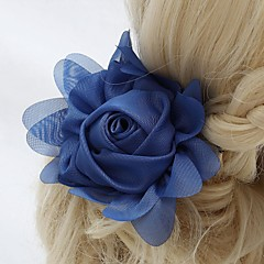 Women's / Flower Girl's Chiffon Headpiece-Wedding / Special Occasion / Outdoor Flowers
