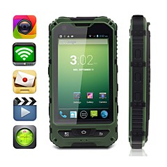 "moxiv 4,0 ""Android 4.2 3G-älypuhelimen (ultra-rugged vedenpitävä, 4gb rom, gps, wifi, dual core, dual sim)"
