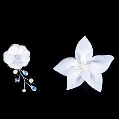 נשים נערת פרחים סאטן כיסוי ראש-חתונה אירוע מיוחד פרחים