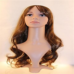 Gentlemen and Ms Jas Shi R Long Curly Wig Hair Flax Gold