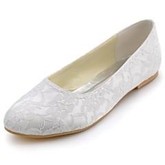 החתונה סגורות הבהונות של תחרה נשים דירות נעליים (יותר צבעים)