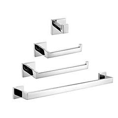 Tilbehørssæt til badeværelset , Moderne Rustfrit stål Vægmonteret