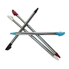 4 x justerbar metall spillet berøring stylus penn for Nintendo 3dsll / xl konsoll