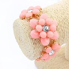 estilo europeu doce flores silvestres pulseira (mais cores)