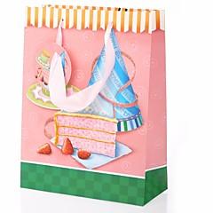 Cupcake Pattern Gift Bag Favor Holder for Birthday