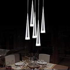 Max 5W Függőlámpák ,  Modern/kortárs Króm Funkció for LED Fém Nappali szoba / Hálószoba / Étkező / Konyha