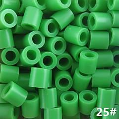 ca. 500 stuks / zak 5mm perler kralen smelten kralen hama kralen eva materiaal safty voor kinderen (diverse B25-B33)