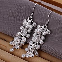 Fashionable Plating Silver Earrings
