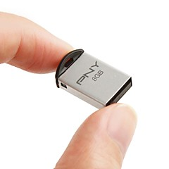 PNY m2 mini 8GB USB2.0-muistitikku