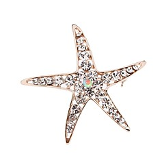 Starfish broche