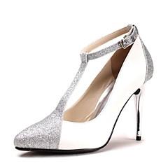 Women's Spring / Summer / Fall Heels / Pointed Toe Glitter Wedding Stiletto Heel Blue / Purple / Red / Silver / Gold