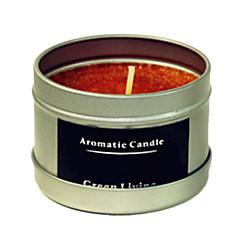12 timer varig æble kanel duft naturlige carnauba stearinlys