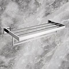 Handdoekstang Roestvast staal Muurbevestiging 60*22.05*12.25cm(23.62*8.68*4.82inch) Roestvast staal Modern