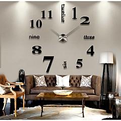Modern/Zeitgenössisch Anderen Wanduhr,Kreisförmig Anderen 41*13*10cm(16.1*5.1*3.9inch) Drinnen Uhr