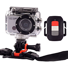 Sports Action Camera 5MP 3264 x 2448 WiFi / Smile Detection / Anti-Shock 4x CMOS 32 GB H.264 50 MUniversal / Motocycle / Bike/Cycling /